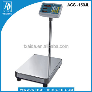ACS-150 high grade 150kg 50g LED price computing acs scale
