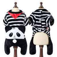 Chinois traditionnel Adorable animal de compagnie vêtements de fête chien cosplay panda Totoro picachu dinosaure lion tigre costume