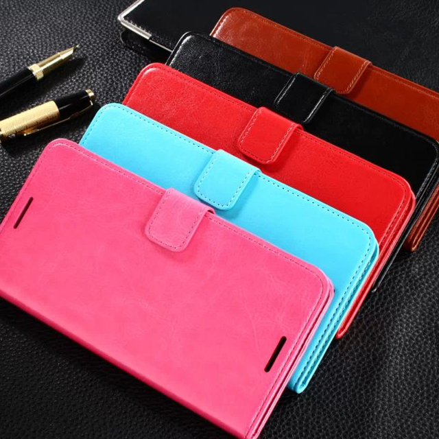 Accessories for HTC 816 Leather PU Wallet Phone Case