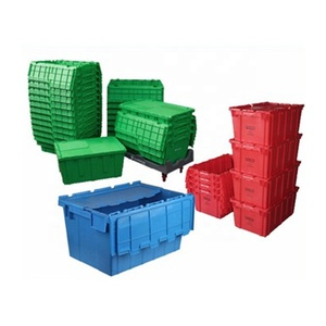 The Last Day's Promotion Customize Folding Collapsible Crates Stackable Plastic Crate