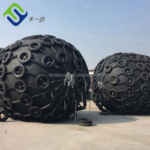 Different sizes China made inflatable boat fender for ship