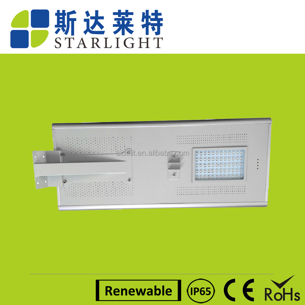 easy installation lithium batter solar power motion sensor led lighting street product