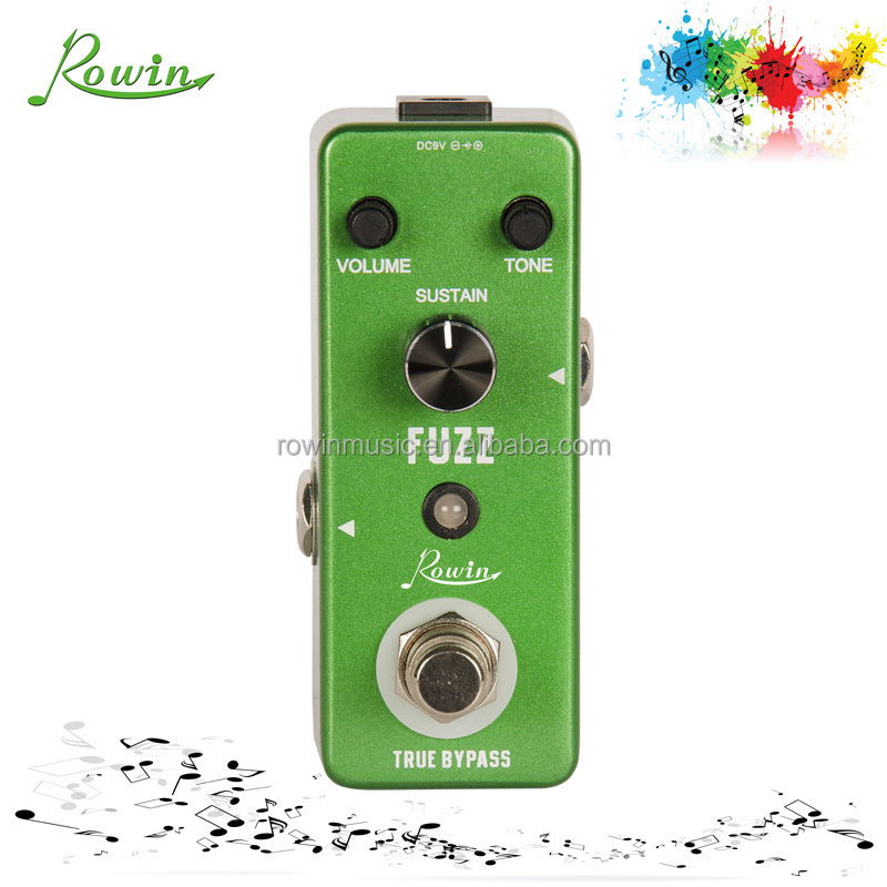 Multi effects pedal Fuzz effect guitar pedal LEF-306 for left hand guitar