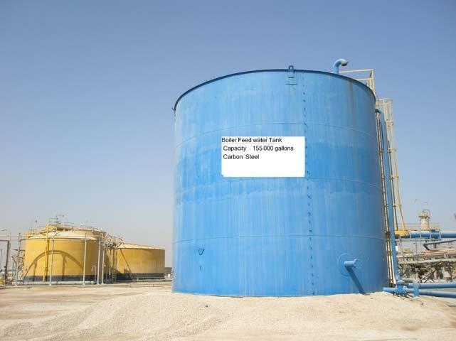 Boiler Feed Water ~ Alimentación de la caldera agua del tanque equipo
