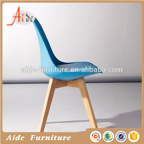 Custom wood furniture simple design nordic rustic relax wooden dinning chair for restaurant furniture