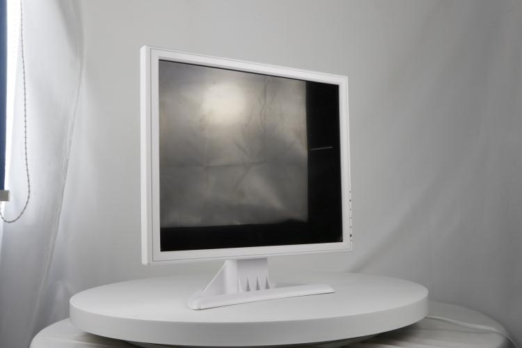 1280*1024 HD input 17 inch white lcd monitor medical for hospital
