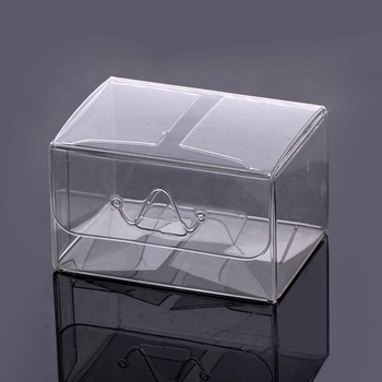 Bulk buy wholesale cheap gift boxes clear empty packing pvc plastic gift boxes gift box nail polish packaging box
