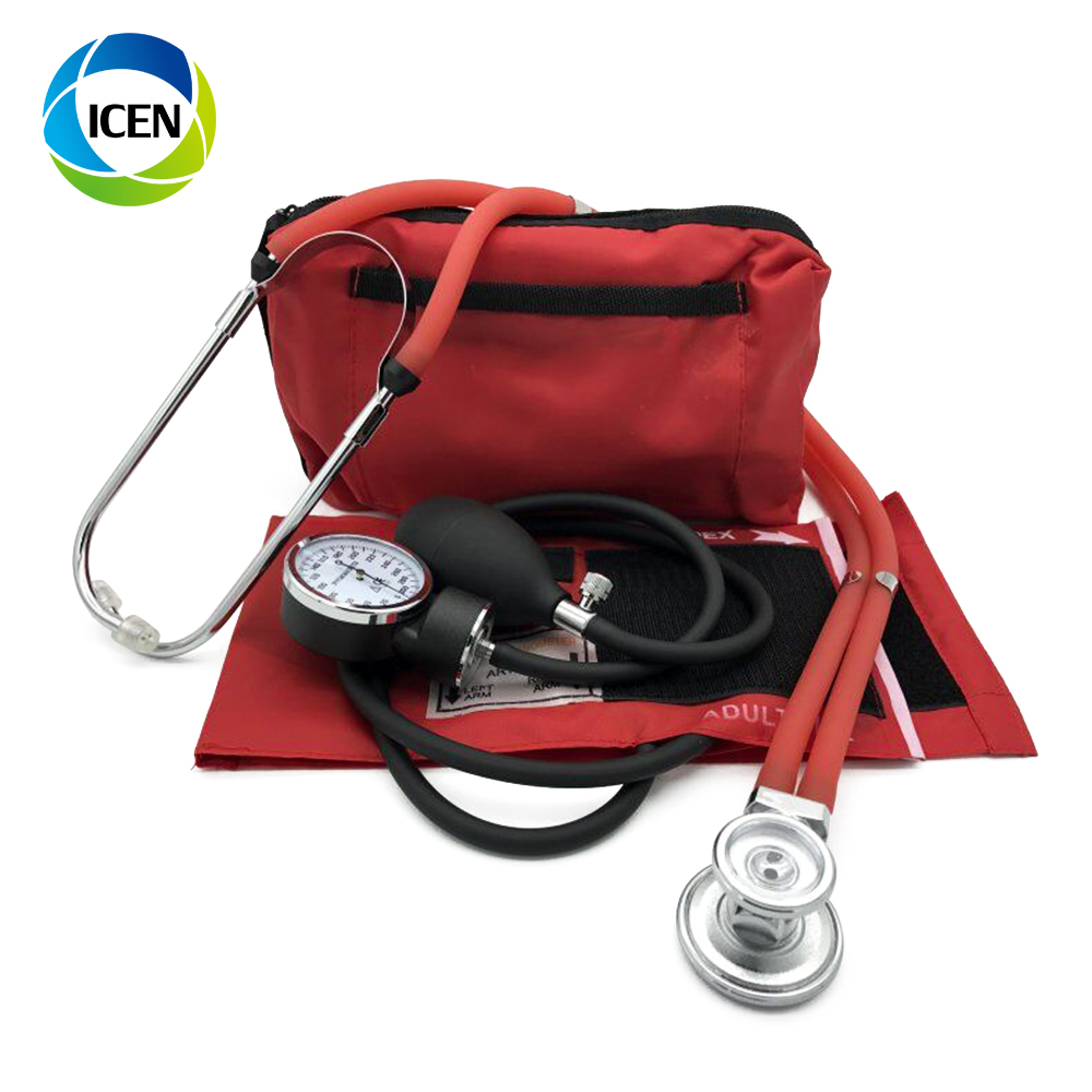 IN-G018 China cheap Medical japan alpk2 calibration doctor mercury Aneroid sphygmomanometer with stethoscope price