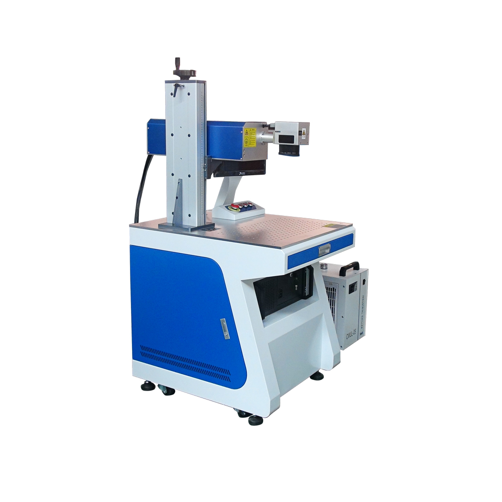 Portable Type 20w 30w 50w Fiber CO2 UV glass etching machine