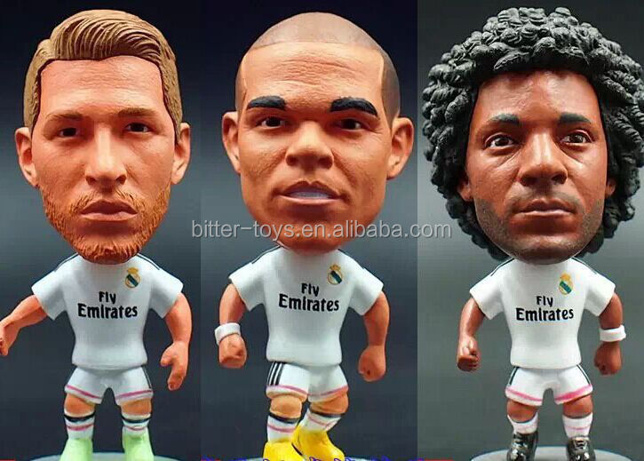 3e780acfd Custom Plastic Bobble Head Action Figure - Buy 3d Custom Football ...