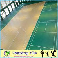 Best price quality basketball court pvc vinyl flooring
