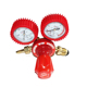 brass propane gas regulator with gauge
