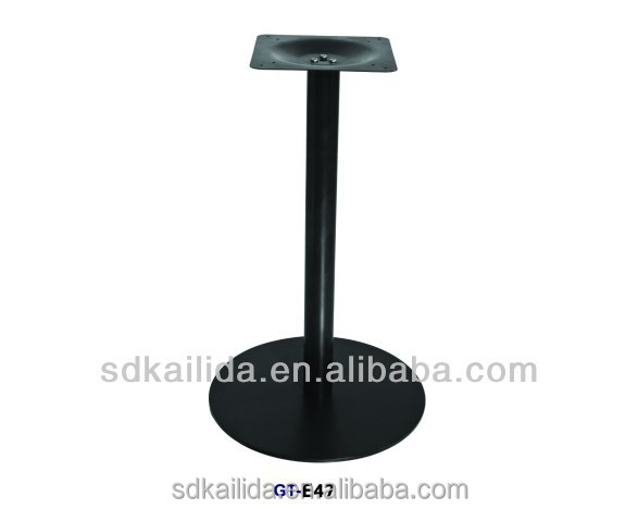 Foshan cast iron table base with round bottom plate made in China supplier
