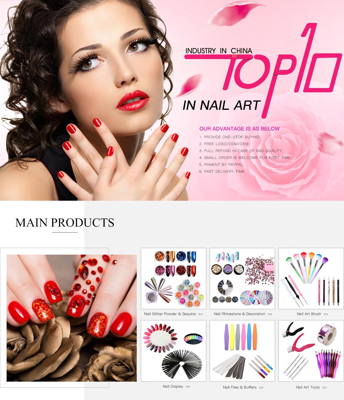 Yiwu Zilong Arts & Crafts Company Ltd. - nail polish, nail sticker