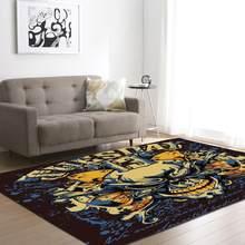 Деликатные креативные мягкие ковры с черепом для гостиной, спальни, кабинета, модный роскошный коврик, домашний коврик для кровати(Китай)