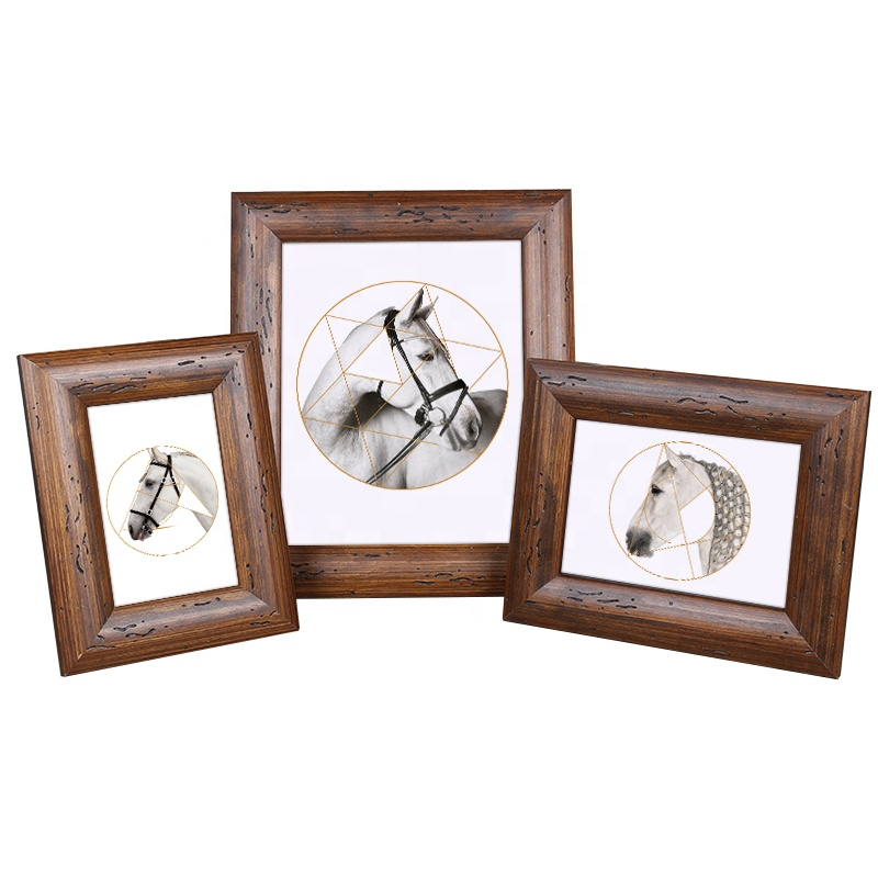 Solid Raw Wood <strong>Vintage</strong> Rustic Wooden Photo <strong>Frame</strong> For Picture A4 5x7 4x6 8x10 Wholesale
