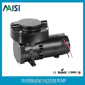 CE Approved Mini Electric Mute Quiet Oil Free Dc Small 24 Volt Vacuum Pump