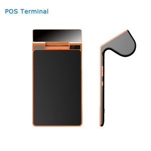Point of sales pos terminal Android NFC, RFID card reader, dual touch screen and barcode scanner all on one