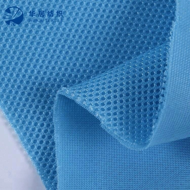 Sandwich spacer 3D air mesh fabric for shoes,office chair