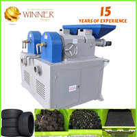 Rubber Raw Material Waste Plastic Paper Recycling Machine Chromed