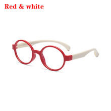 Милые силиконовые мягкие очки для маленьких мальчиков и девочек, защита для глаз с защитой от голубого света, Детские стеклянные очки в опра...(Китай)