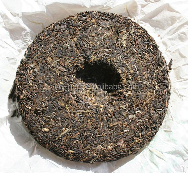 wholesale organic Chinese Compressed raw Pu erh Tea