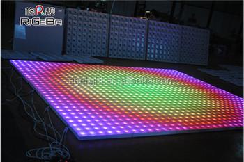 06mX06m RGB Floor Light Led Strip Lighting Dance Panels