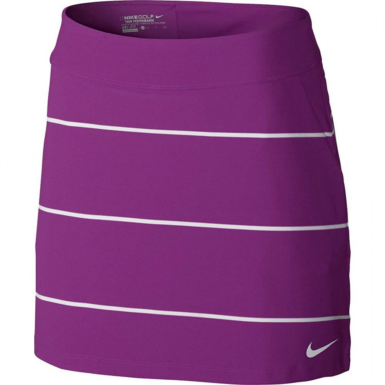 9babc1e2 Buy Nike Golf Womens Tournament Knit Stripe Golf Skort Skirt 726114 ...