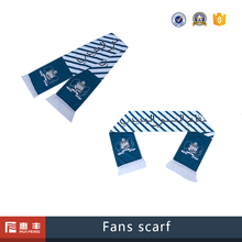 Promotion soccer wholesale polyester scarf