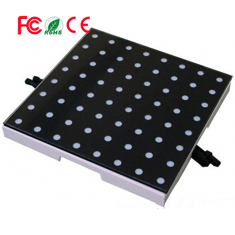 OEM/OEM Customer Design PC & Sub Control Disco DJ Wedding 64pcs SMD5050 <strong>RGB</strong> 3IN1 8*8 Pixel Interactive LED Dance Floor Panels