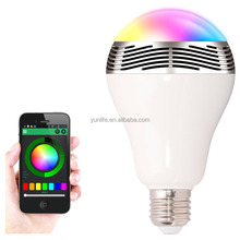 China led auto bulb bottle also colorful light lamp RGB led bulb