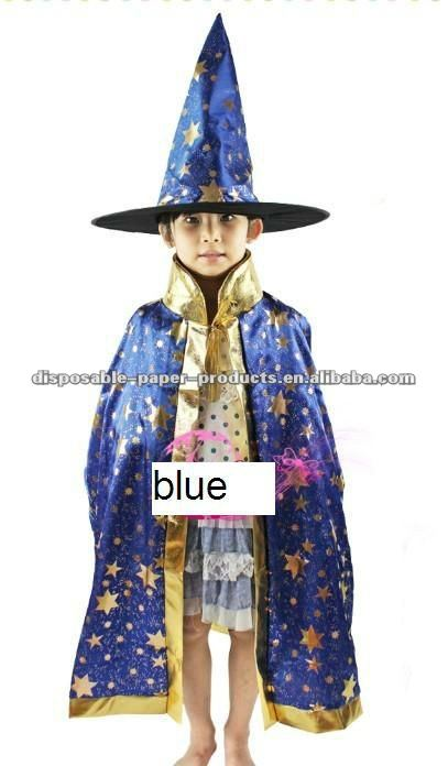 Kids Costumes Girls Boys Halloween Party Dress Up Wizard Hat Cosplay Cloak Set Blue Star 5 -10 Year - Buy Blue Star Cape Hat Party CostumeBlue Wizard Cape ...  sc 1 st  Alibaba & Kids Costumes Girls Boys Halloween Party Dress Up Wizard Hat Cosplay ...