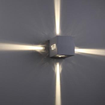 Pun Lighting Led Exterior Wall Light