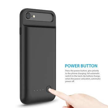 For iphone mfi battery case MFI certified battery charging case