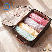 Hand Pressing Travel Vacuum Storage Bag Roll up Space saver bag