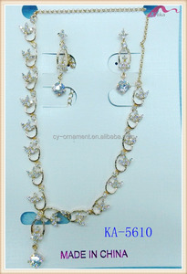 18k Gold Plated Jewelry Sets New Designs