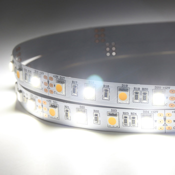 Transparent Clear Pvc Tube Two Color Bicolor Wifi Led Strip