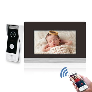 Remote Unlock Door Phone TCP/IP SIP video intercom with Night Vision and APP