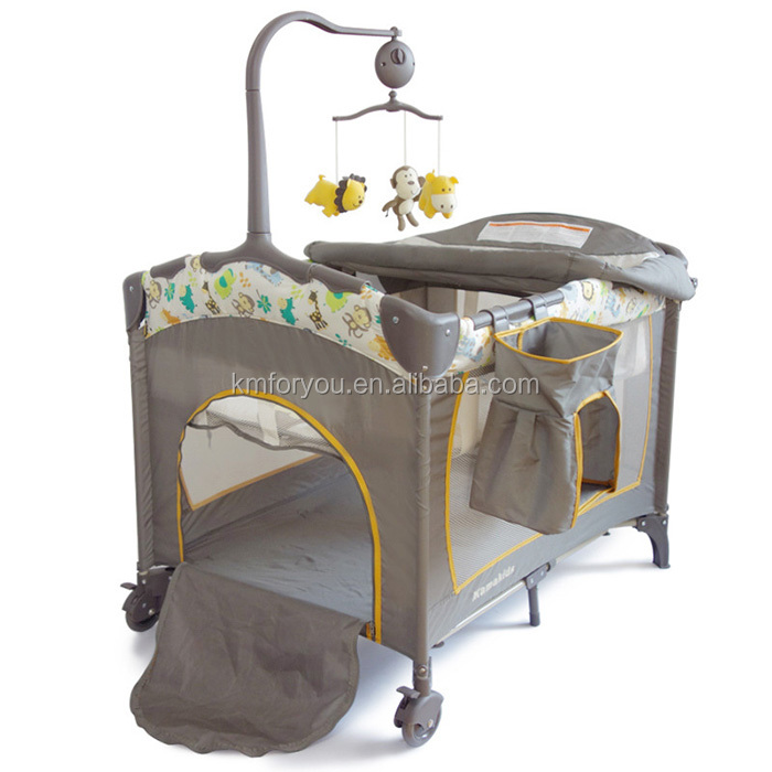 2018 luxury royal baby crib