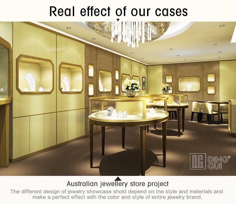 Brightening Attractive Splendid 3d Rendering Jewellery Shop Interior Design Ideas