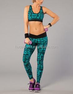 DongGuan Custom OEM Fitness Sexy Sports Sublimation Fashion Woman Yoga Clothing