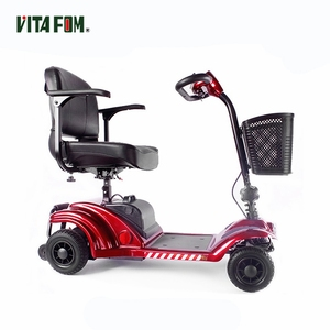 Battery Power Q Tech Portable Lightweight Fourwheel Electric Personal Mobility Scooter Handicap