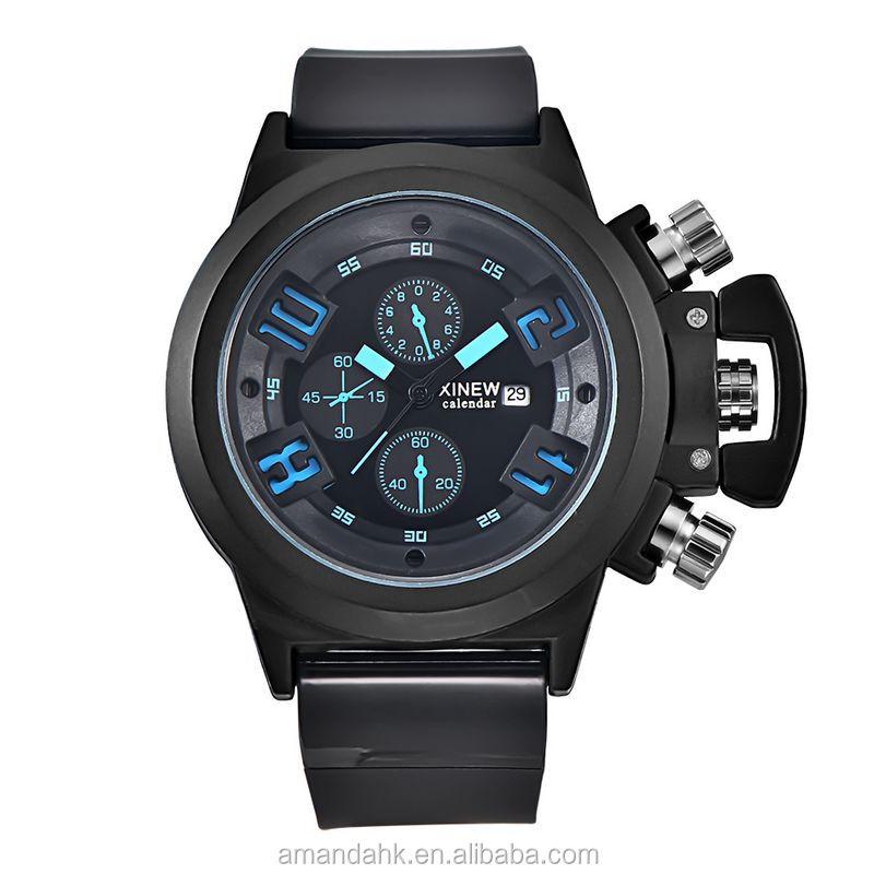 Brand New Men Sport Wristwatches Wholesale 7 Colors Life Waterproof Silicone Watch Digital Quartz Wristwatch For Men фото