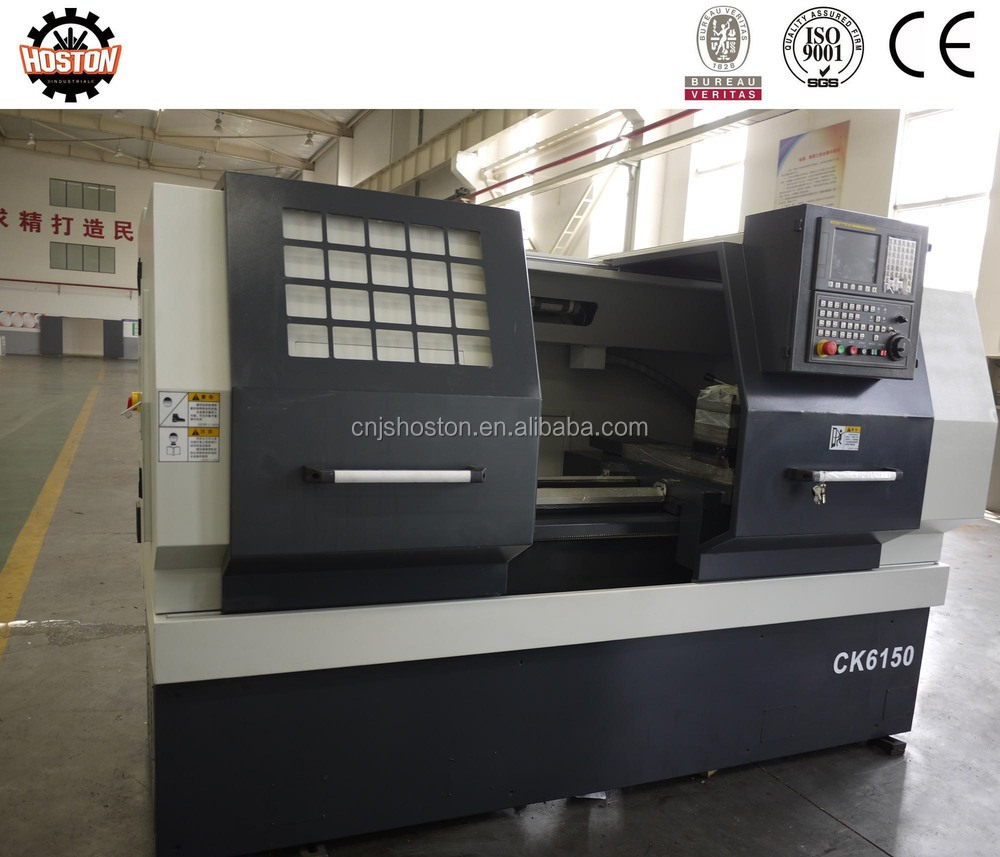 Hoston hydraulic chuck horizontal cnc lathe machine