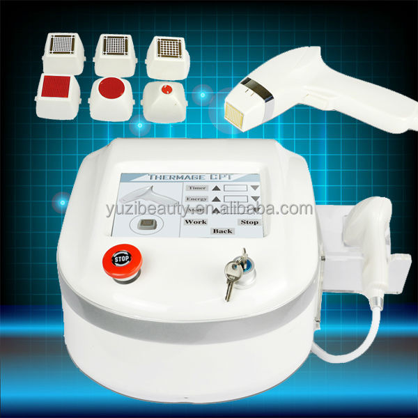 MR-01 2014 portable derma pen microneedle Fractional RF machine (CE Approved)