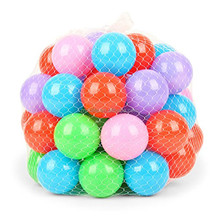 Wholesale Multi-Colored Plastic Crush Proof Bulk Small Diameter Fun Pit Balls For Ages 3+
