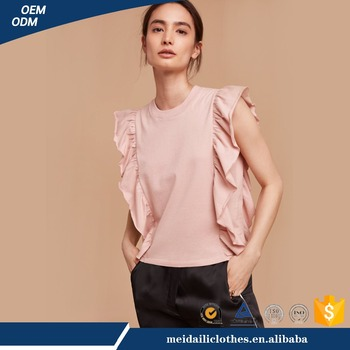 Guangzhou MeidailiFashion Custom Blank Sleeveless Silk Women T-Shirt