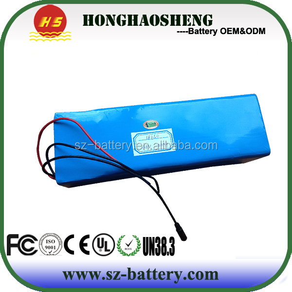 OEM portable hot sale UL battery 36v 72AH rechargeable inverter batteries
