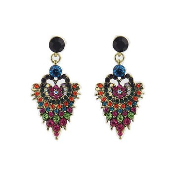 Beautiful Indian Style Earrings Pendant Beaded Jhumka Earring Jewelry
