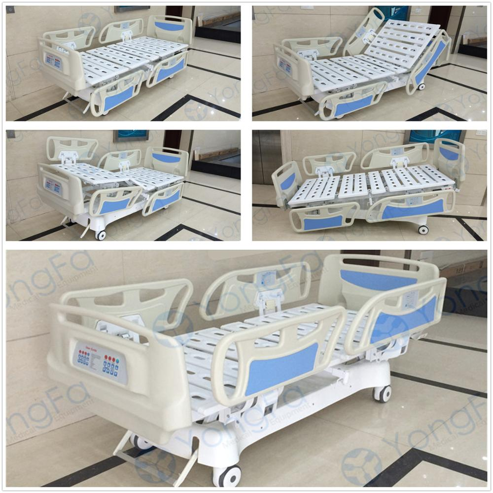 Cardiac chair hospital bed - Yfd5618k V Five 5 Functional Luxurious Cardiac Position Electric Cpr Icu Electric Hospital Bed